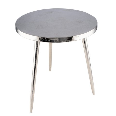 GEHL SIDE TABLE ROUND ALUMINIUM