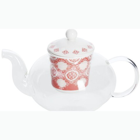 TOG TEA POT CORAL 700CC