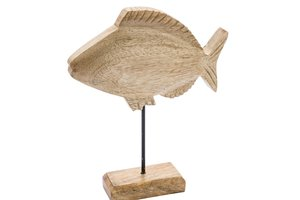 GEHL FISH ON BASE WOODEN
